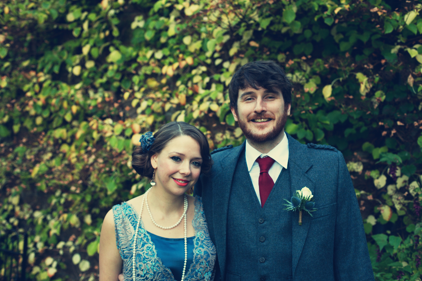 Vintage Argyll Wedding \\ Lahra & Dan