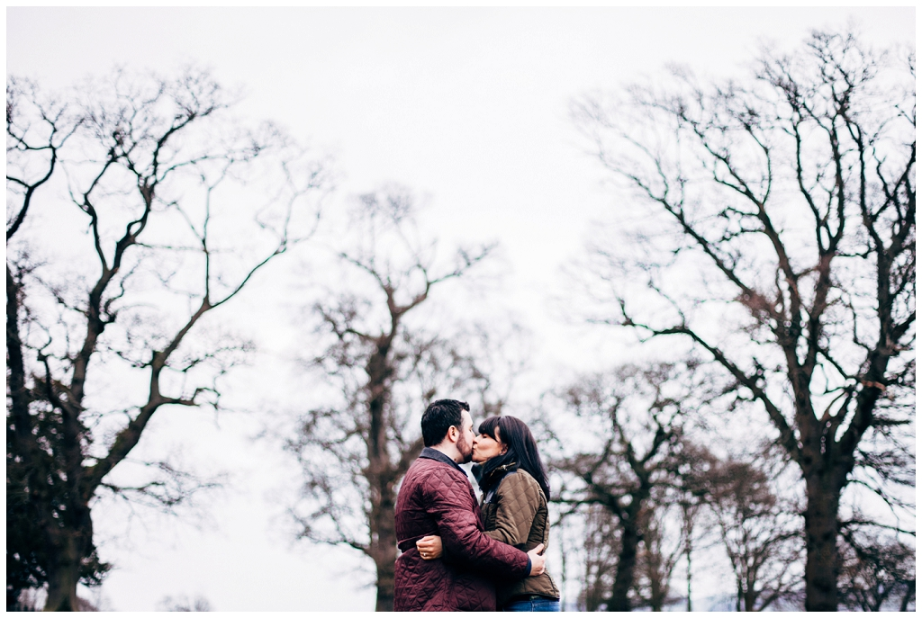 Fun & Relaxed Perthshire Engagement Shoot \\ Liam & Janine