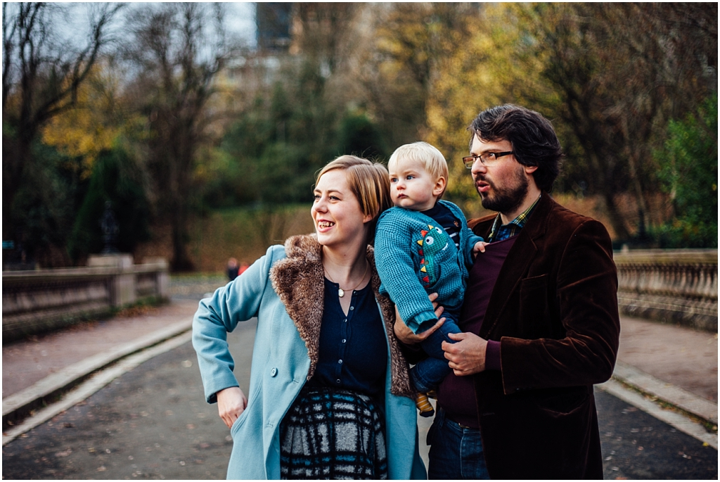 Family fun in Kelvingrove Park \\ The Scott Family