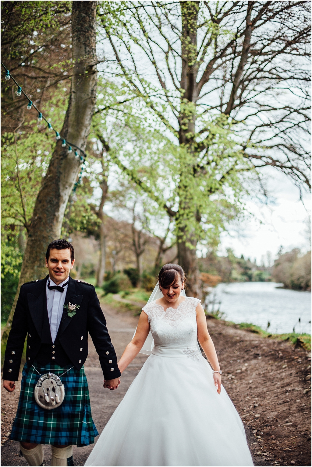 Island Wedding in Inverness at The Kingsmill Hotel \\ Emma & Donald