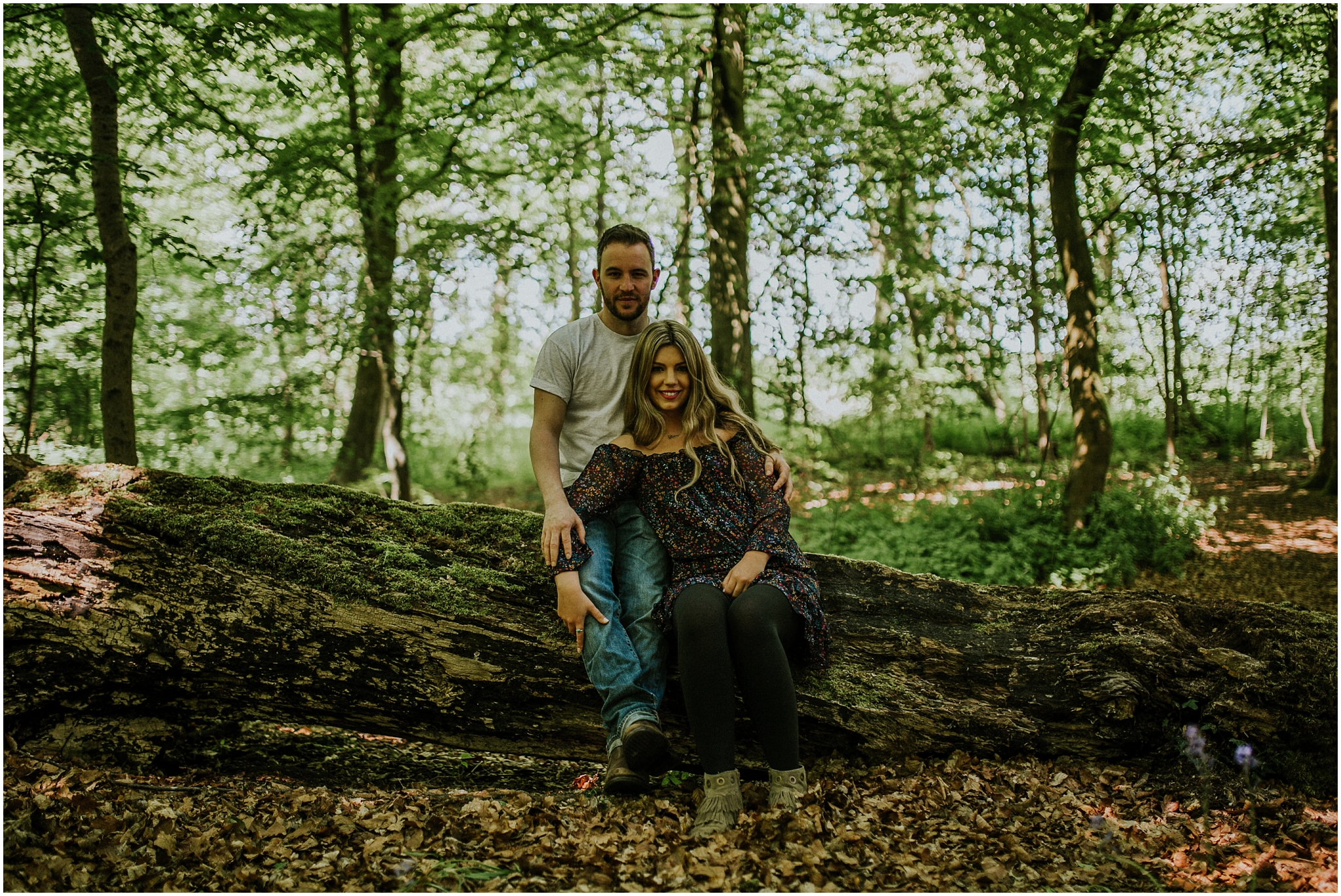 Pollock Park Engagement Shoot Glasgow