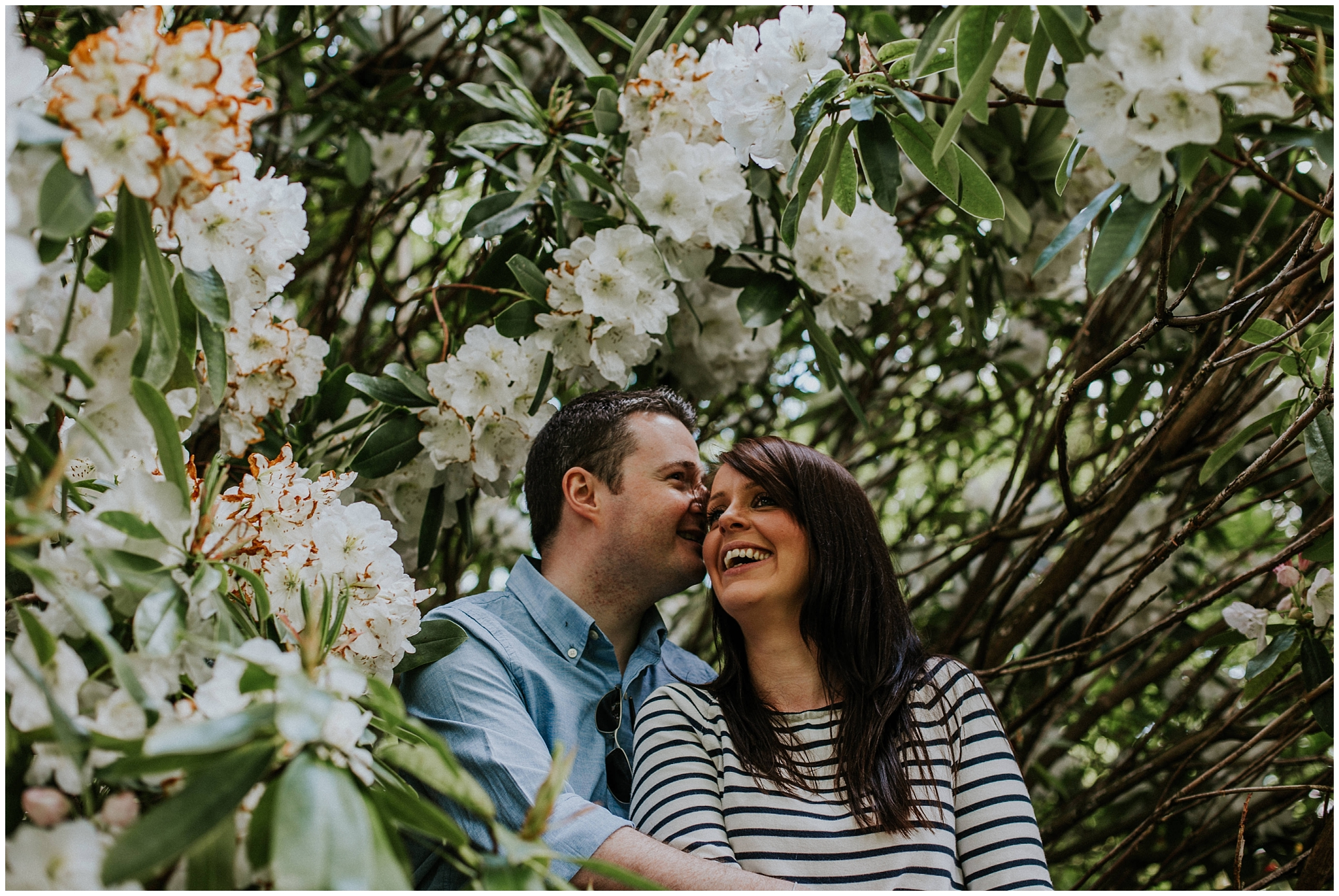 Engagement Photography Glasgow Botanic Gardens