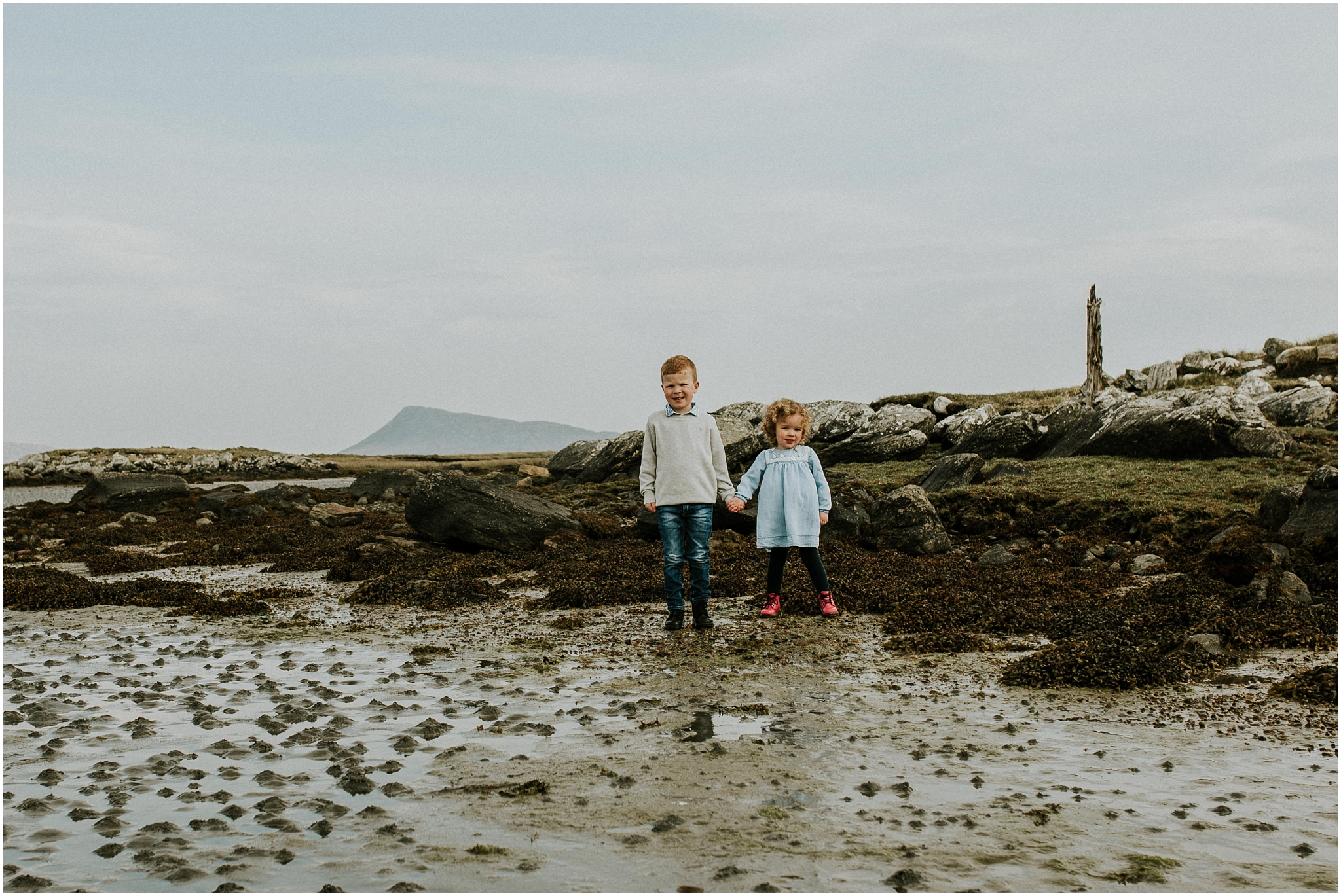 Seonaidh & Ruby \\ Isle of Benbecula Family Photography