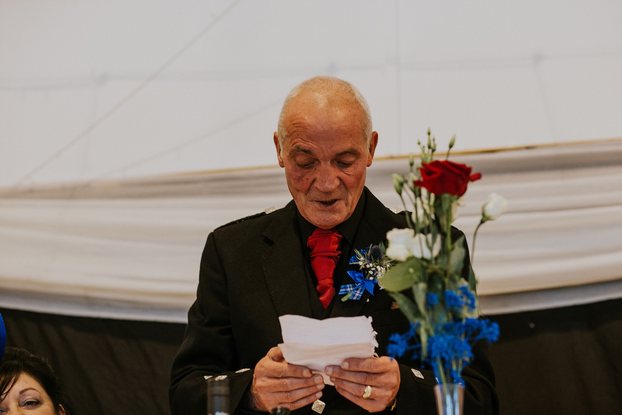 father of the bride speech, carnish hall, north uist