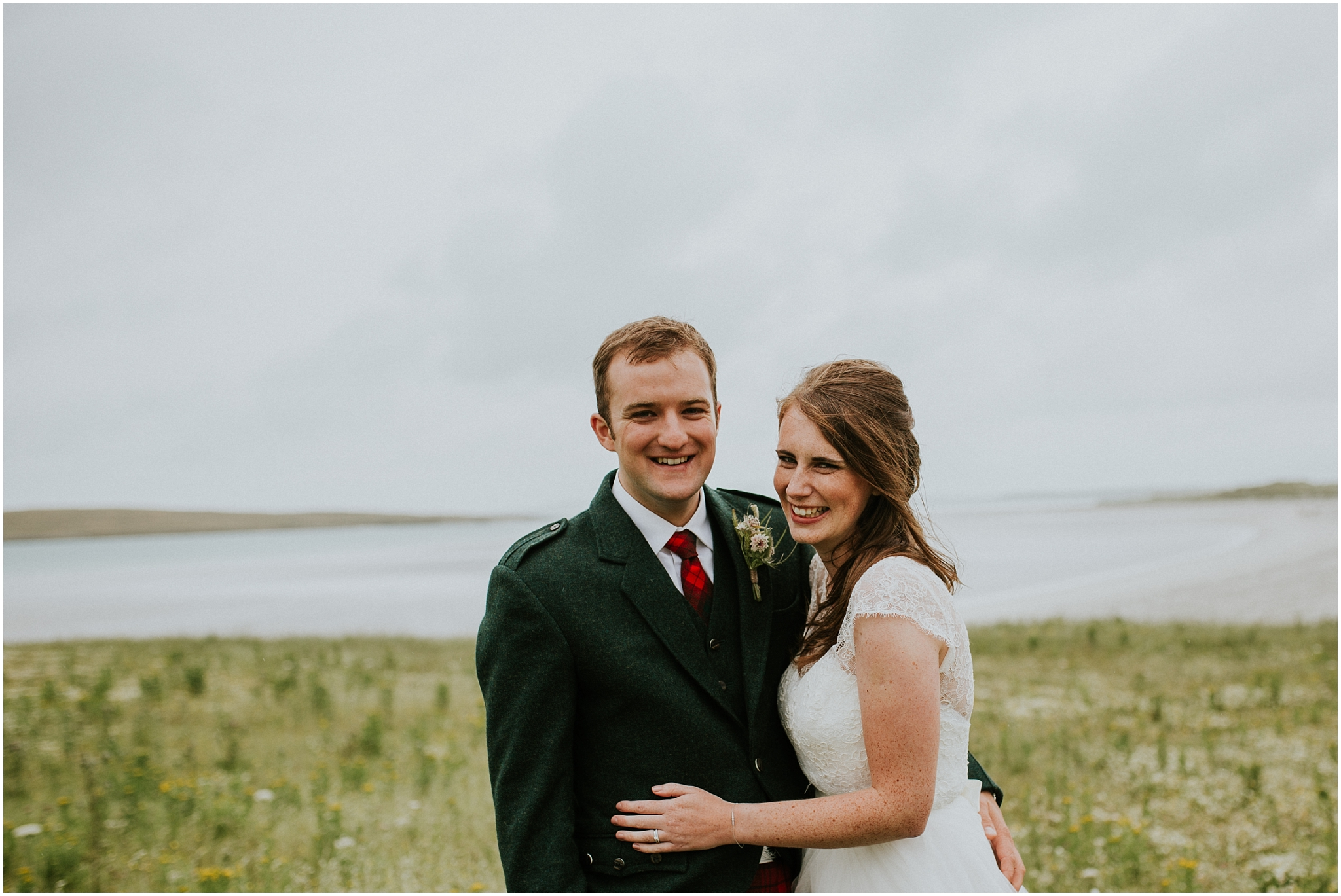 Eilidh & Peter \\ Clachan Sands – Outer Hebrides Wedding